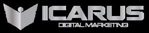 icarus digital marketing logo metallic